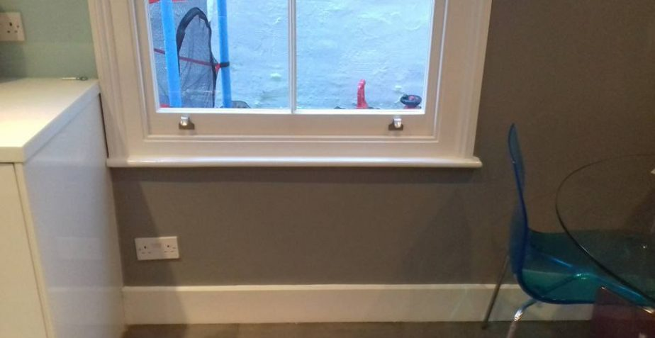 Sash Windowsill Replacement