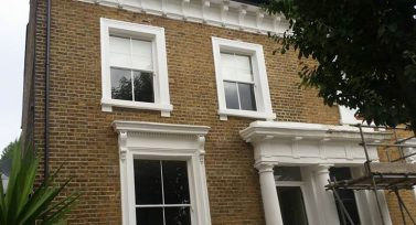 Sash windows, Home
