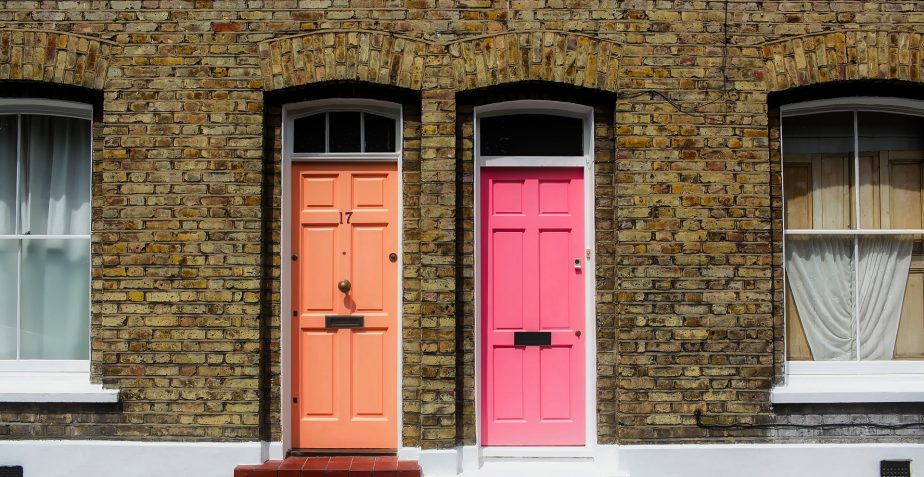 Giving new life to an old wooden door